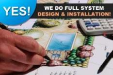 we provide professional sprinkler system design and installation services